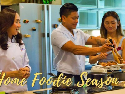 Home Foodie Season 5 with Chef Yen, Drew Arellano, and Iya Villania