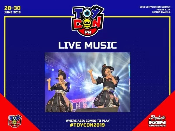 LIve Performances at Toycon 2019