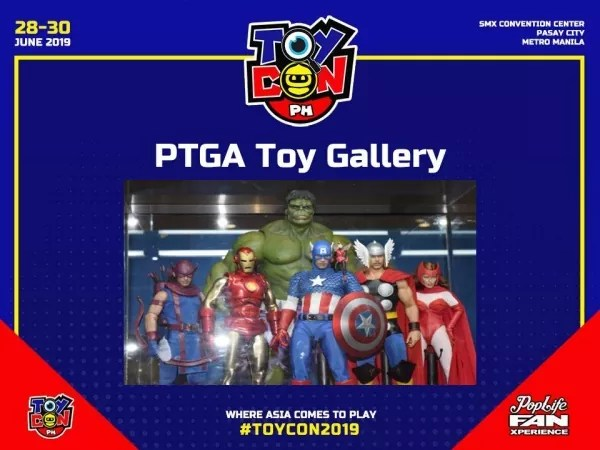 Toy Gallery at Toycon 2019