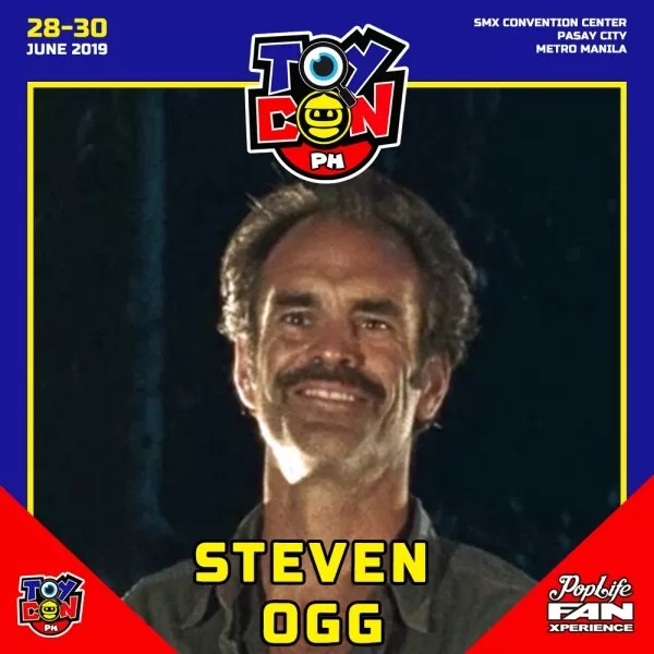 STEVEN OGG of The Walking Dead
