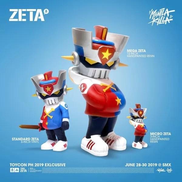 Toycon 2019 Exclusives - Zeta Manila Killa PH Colorway
