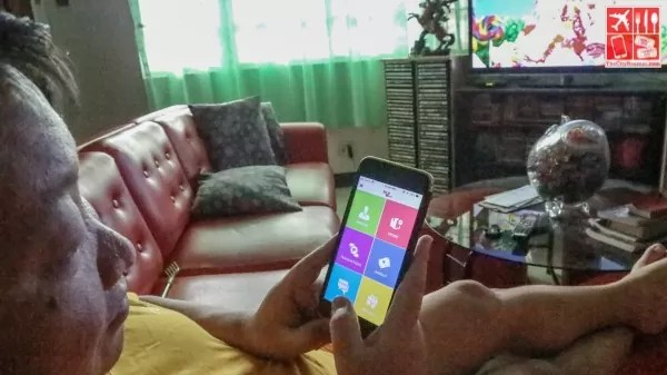Online selling while watching TV