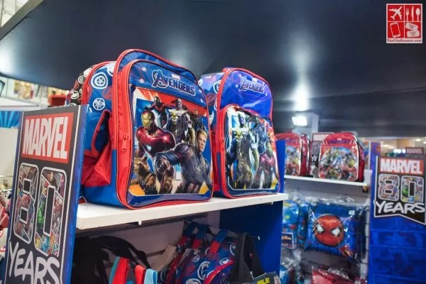 School bags with Marvel prints