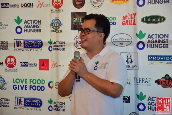 Action Against Hunger Phils Fundraising and Resource Devt Manager, Dale Nelson Divinagracia