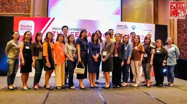 Executives and VIP Guests at the THAIFEX-Anuga Asia 2020 Prescon held at Dusit Hotel Manila
