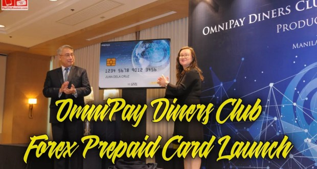 OmniPay Diners Club Forex Prepaid Card Unveiled