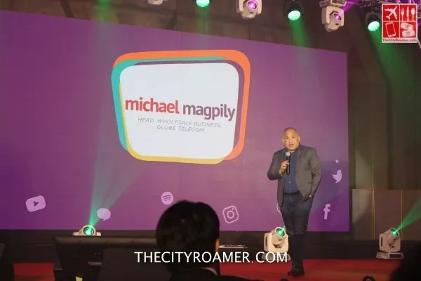 Michael Magpily -Globe Telecom Head Wholesale Business