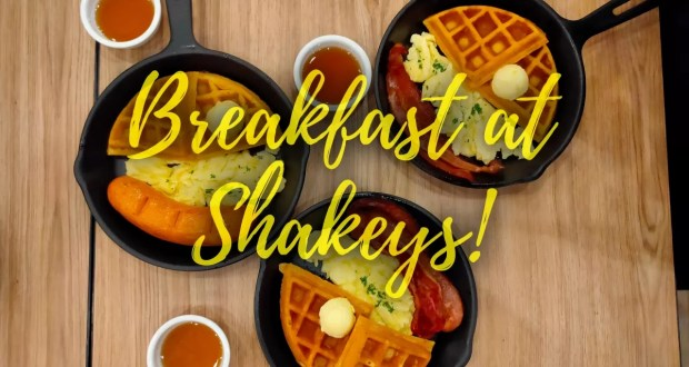 Breakfast at Shakey's