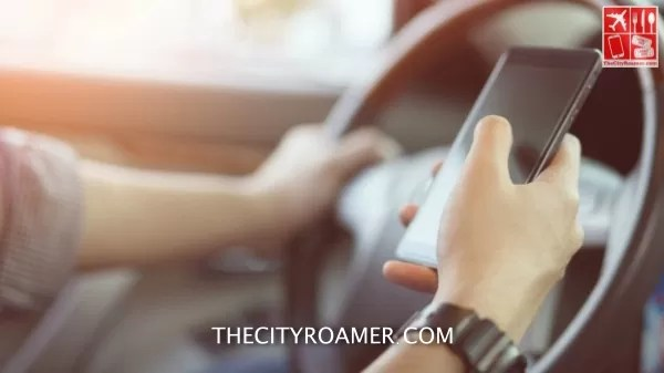 Stop using your phone while driving so you get to your destination safe