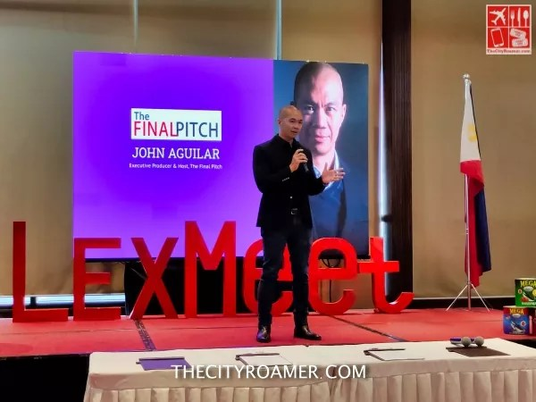 John Aguilar of The Final Pitch graced the event