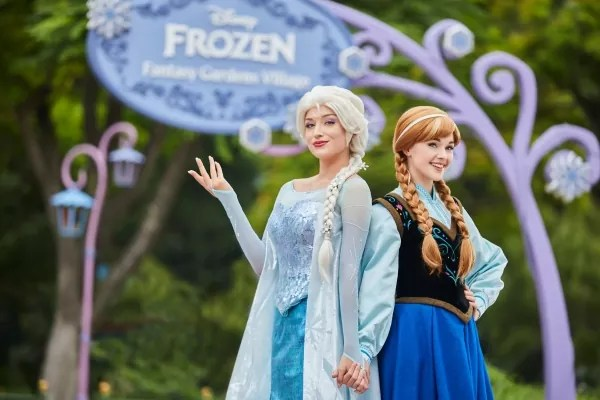Magical Surprises with Elsa and Anna of Frozen