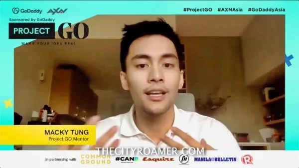 Ligo Vice President for Advertising Macky Tung