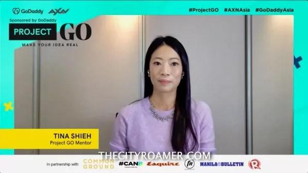 GoDaddy Asia Marketing Director Tina Shieh