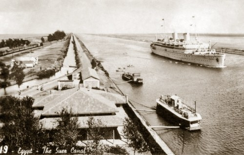 Crisis in the Suez Canal