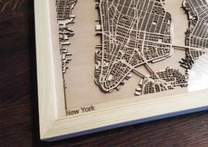 New York CityWood Minimal Wooden map wood laser cut maps https://thecitywood.com/ CityWood is a wooden map artwork. City streets, water CityWood - Laser Cut Wooden Maps - Award Wining Design by architect and designer Hubert Roguski