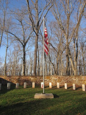 Cemetery at Ball's Bluff