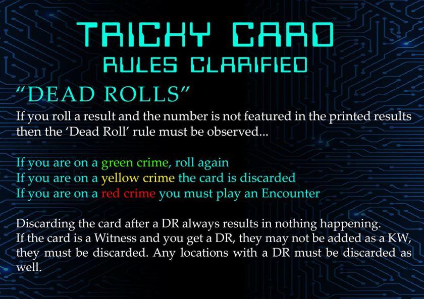 dead rolls