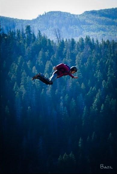 BASE jump in Colorado