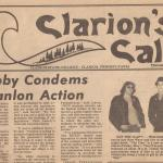 Clarion News Paper