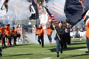 soldier field chicago player entrances