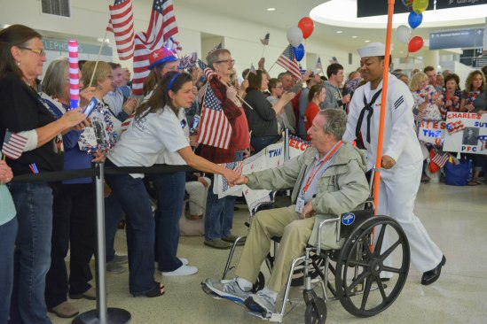 Photo courtesy of Honor Flight Chicago