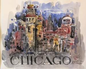 Ed Wentz: Chicago's Chinatown