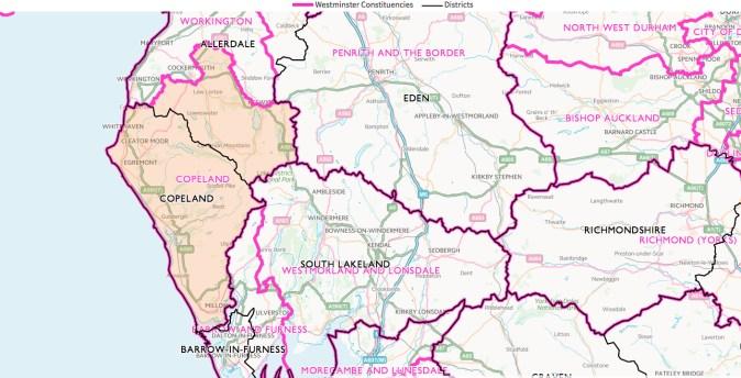 copeland-constituency-map