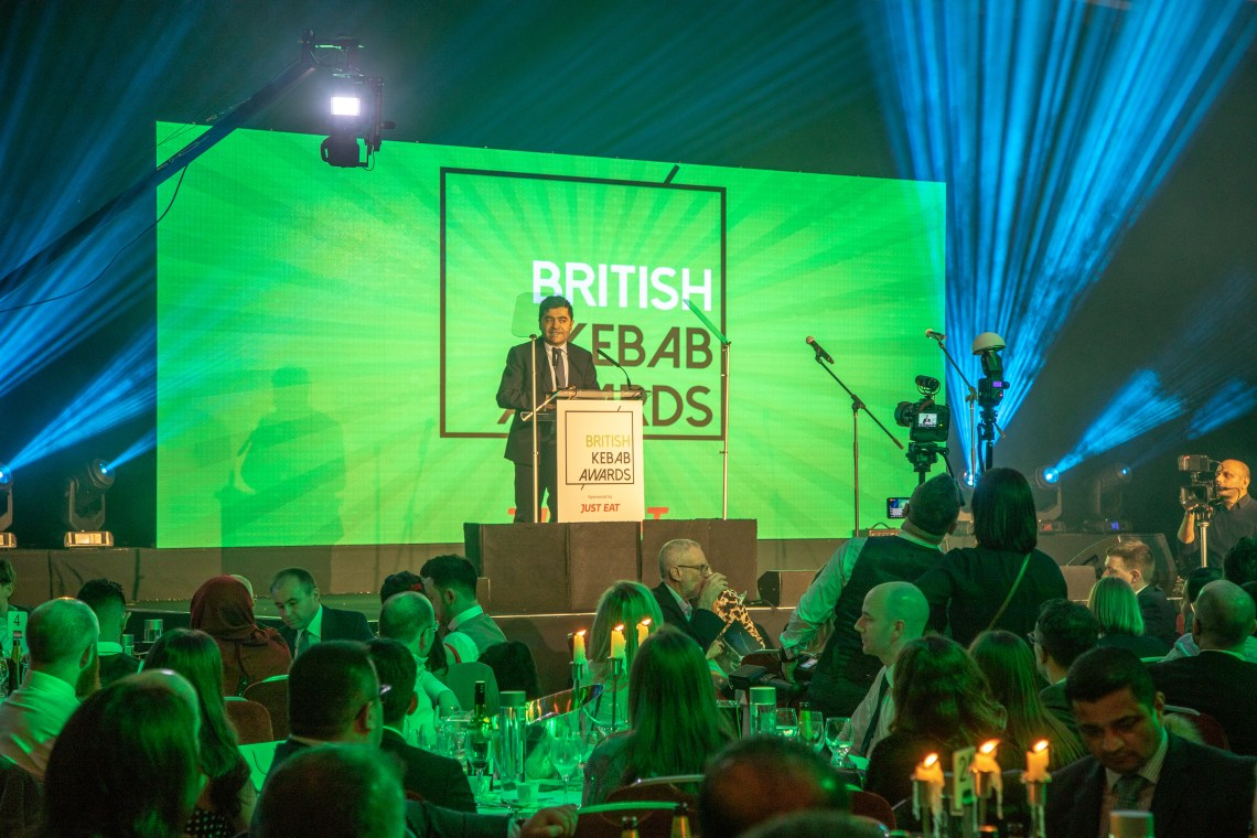 Ibrahim_Dogus_at_the_British_Kebab_Awards_2019_3