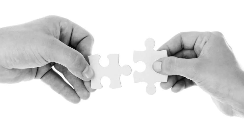 decorative image: two puzzle pieces