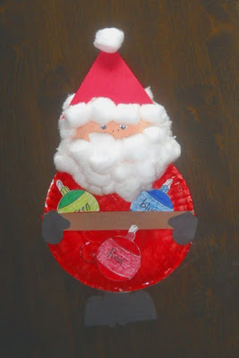 Santa Crafts And Activities For Kids