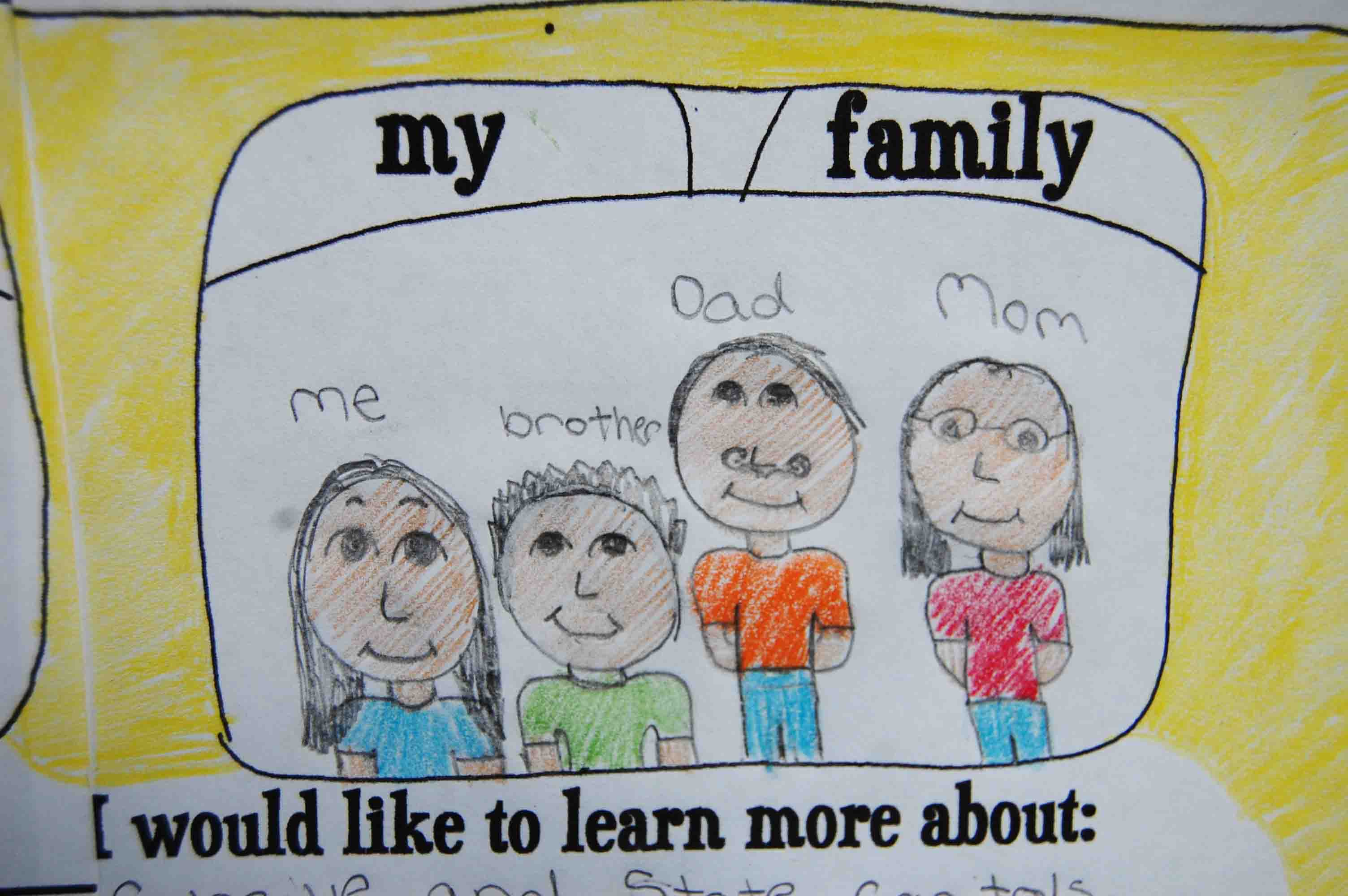 Back To School Activity About Me Themed School Bus