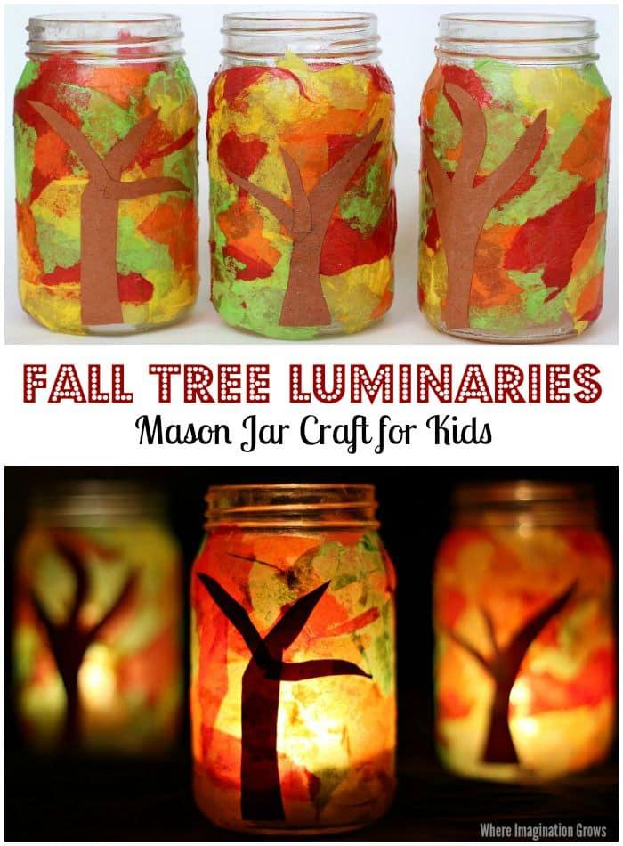 fall-tree-mason-jar-luminaries-preschool-craft