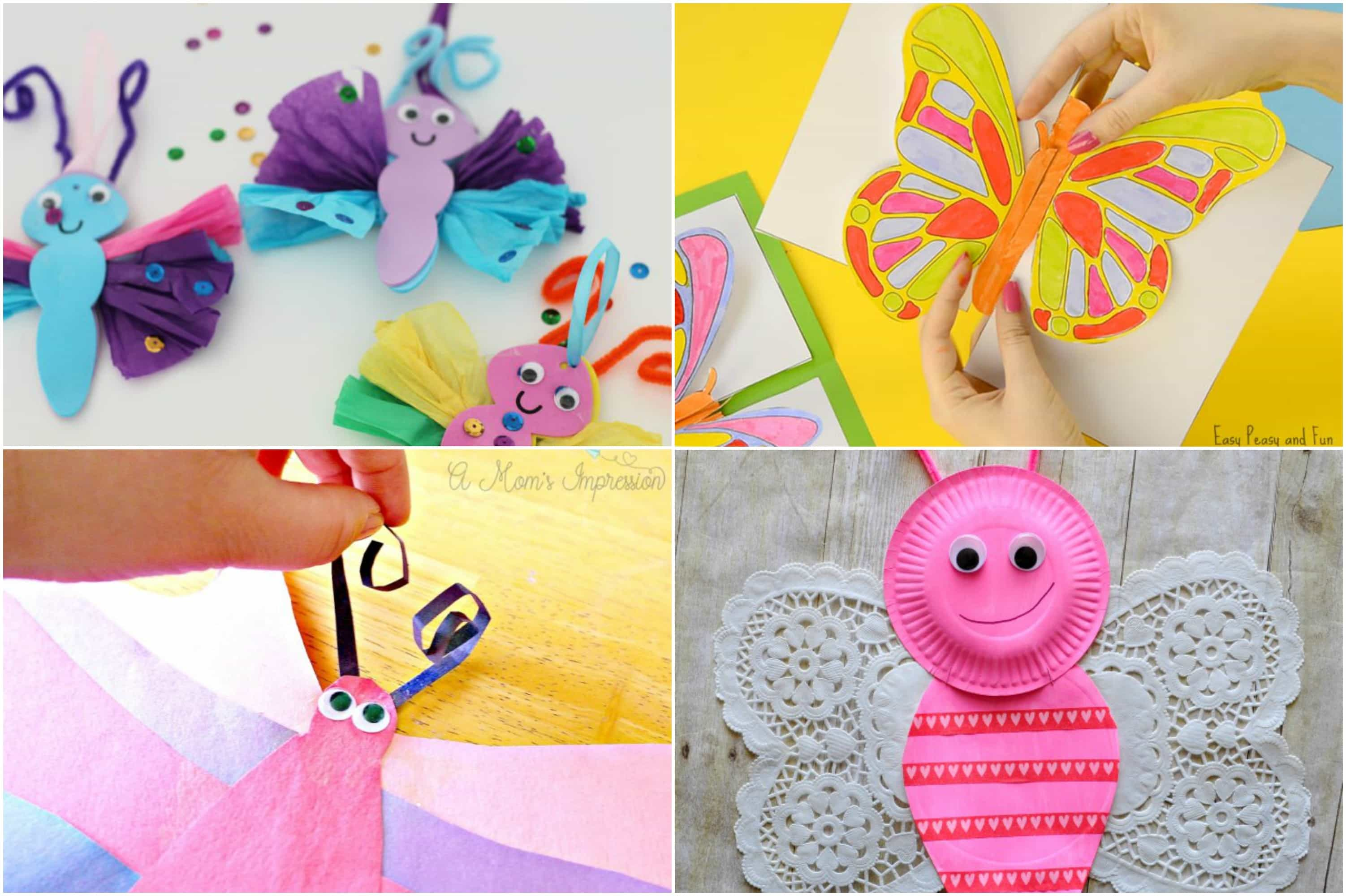 Easy Butterfly Craft Ideas For Kids