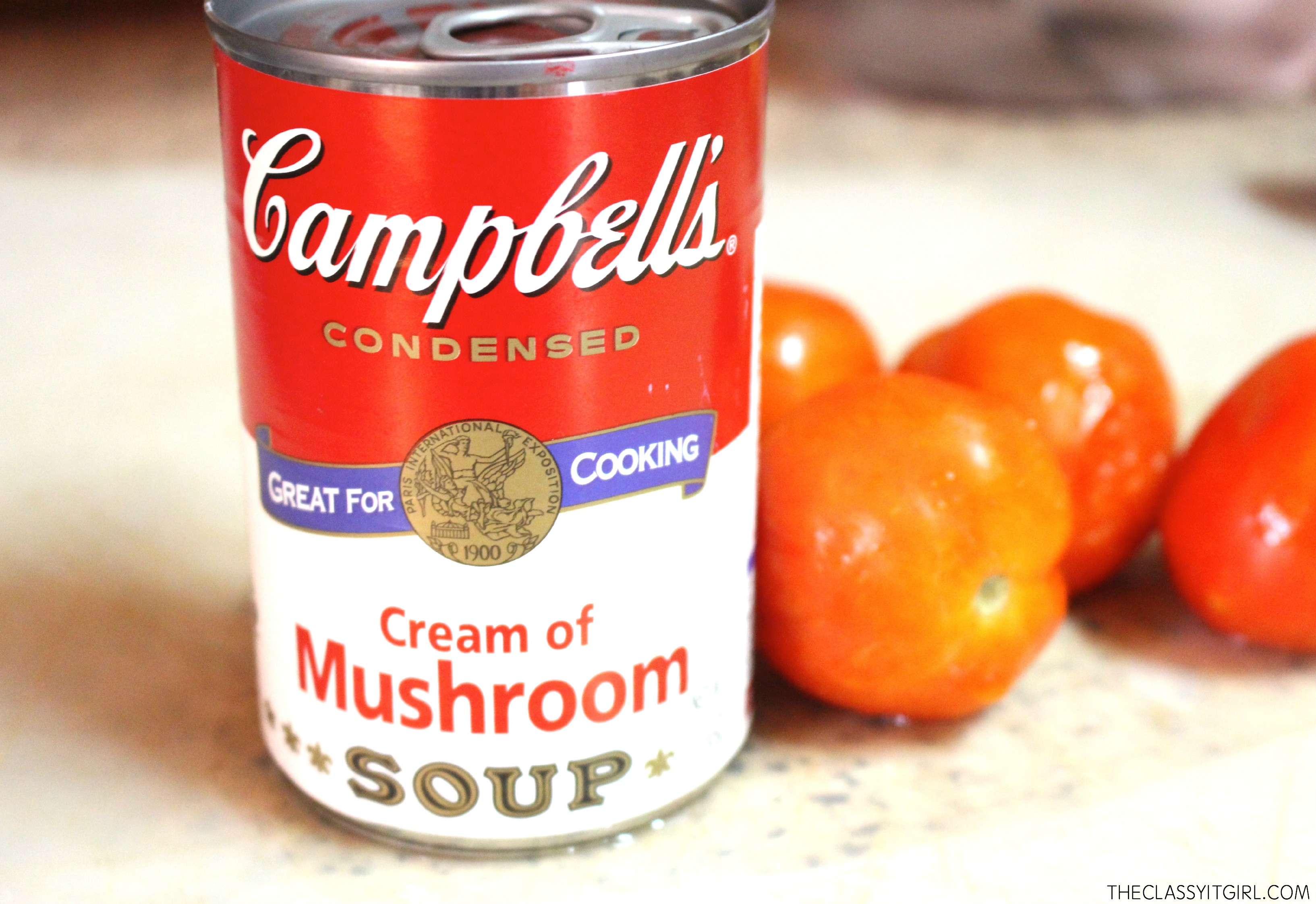 Baked Salmon With Campbell 39 S Cream Of Mushroom Roxy James