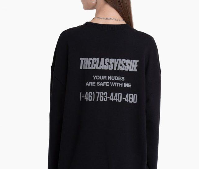 Nudes Sweater Black
