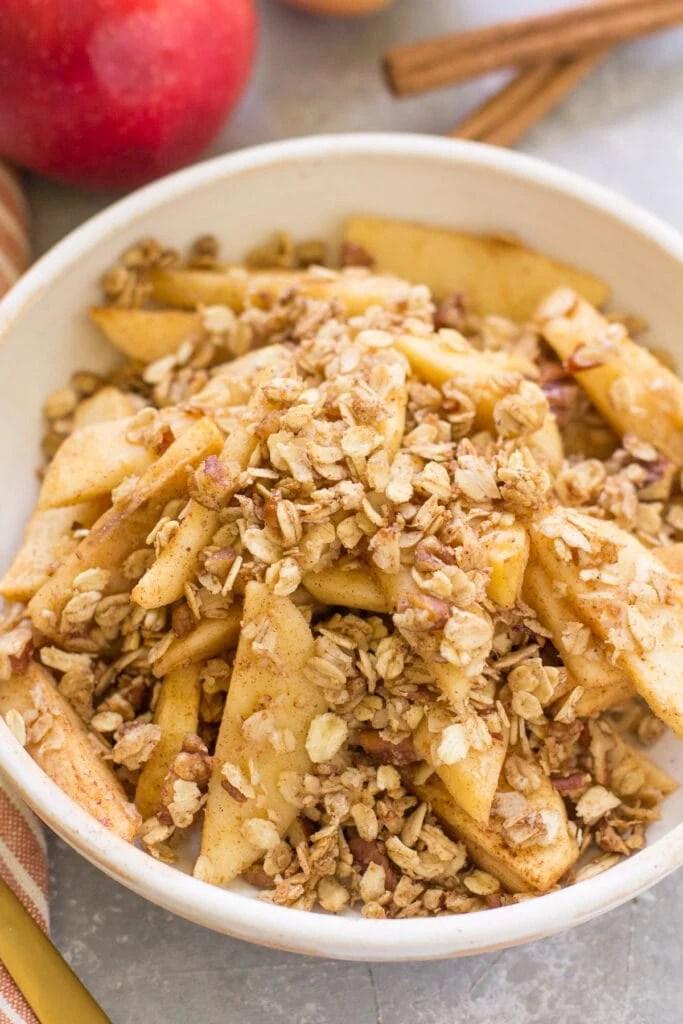 Healthy Apple Crisp Recipe