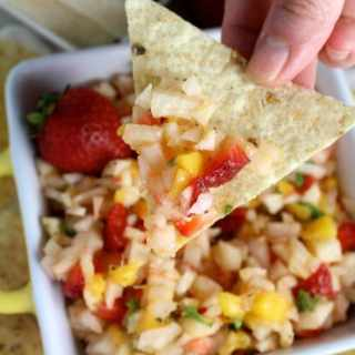 Strawberry Mango Jicama Salsa Recipe