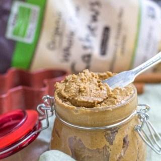 Healthy Gingerbread Cashew Butter