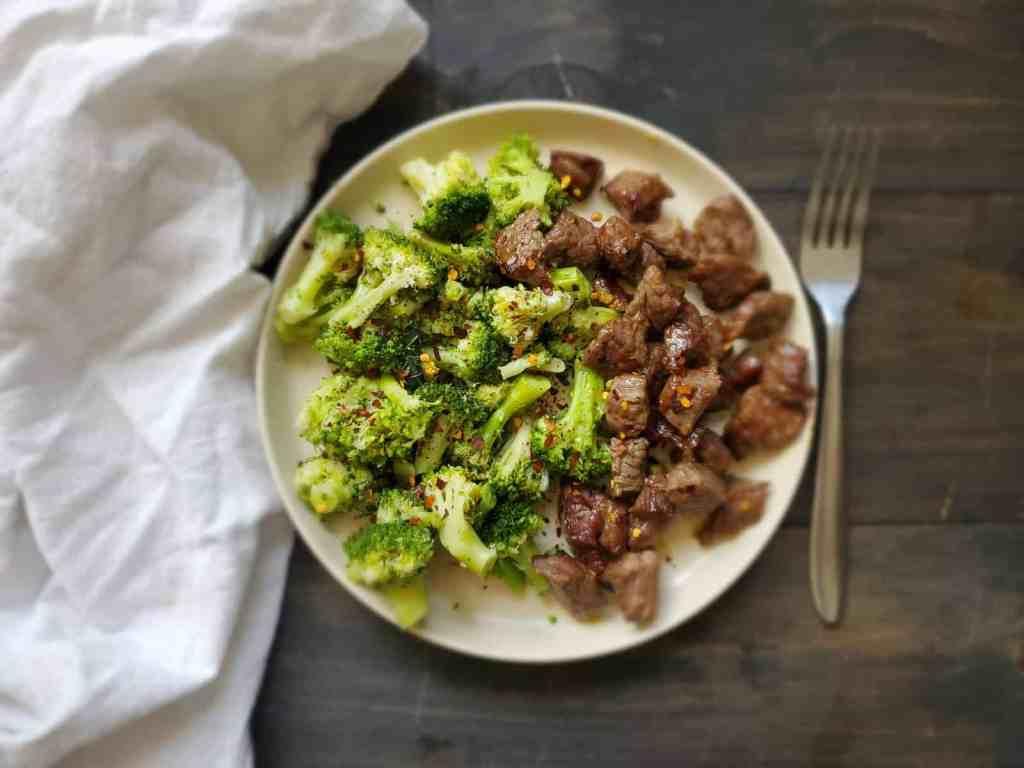 Sheet Pan Beef and Broccoli Image