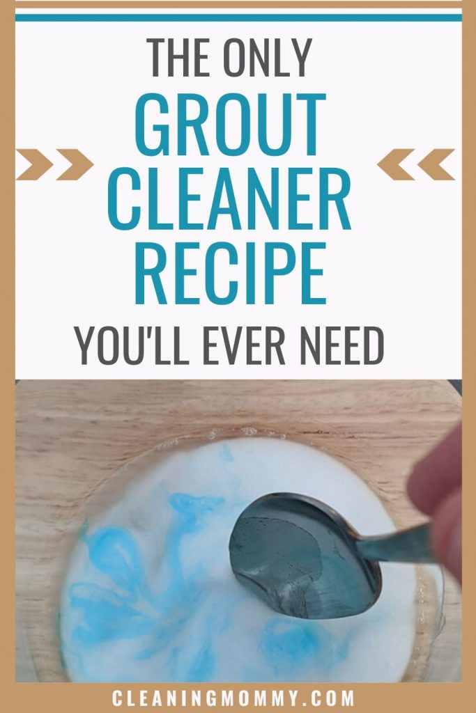 best homemade grout cleaner with dawn
