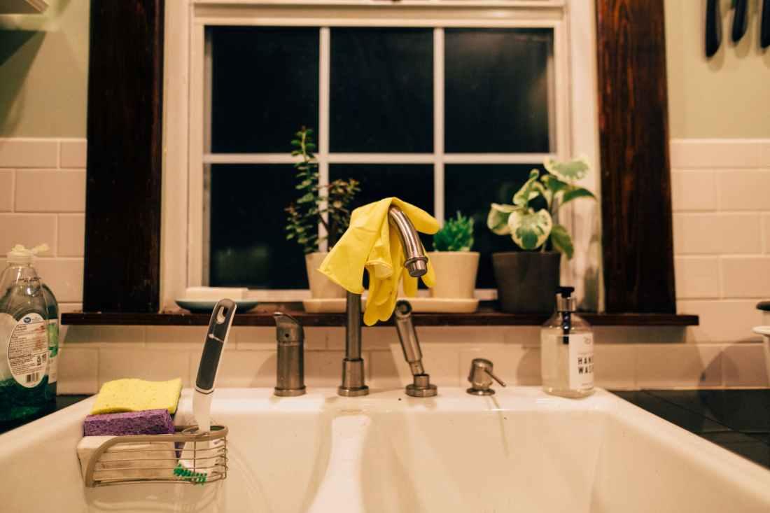 photo of a kitchen sink