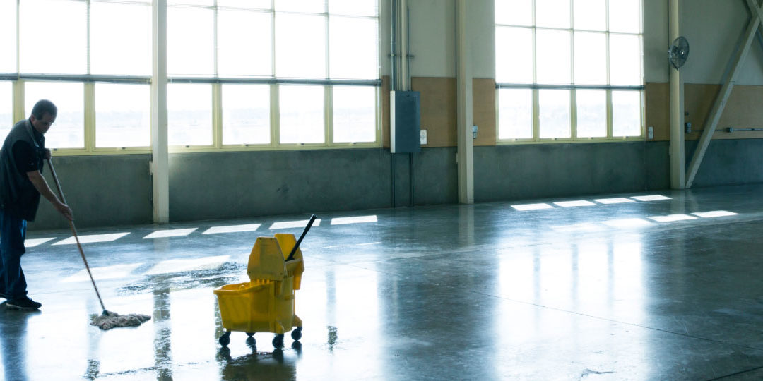 warehouse commercial cleaning services