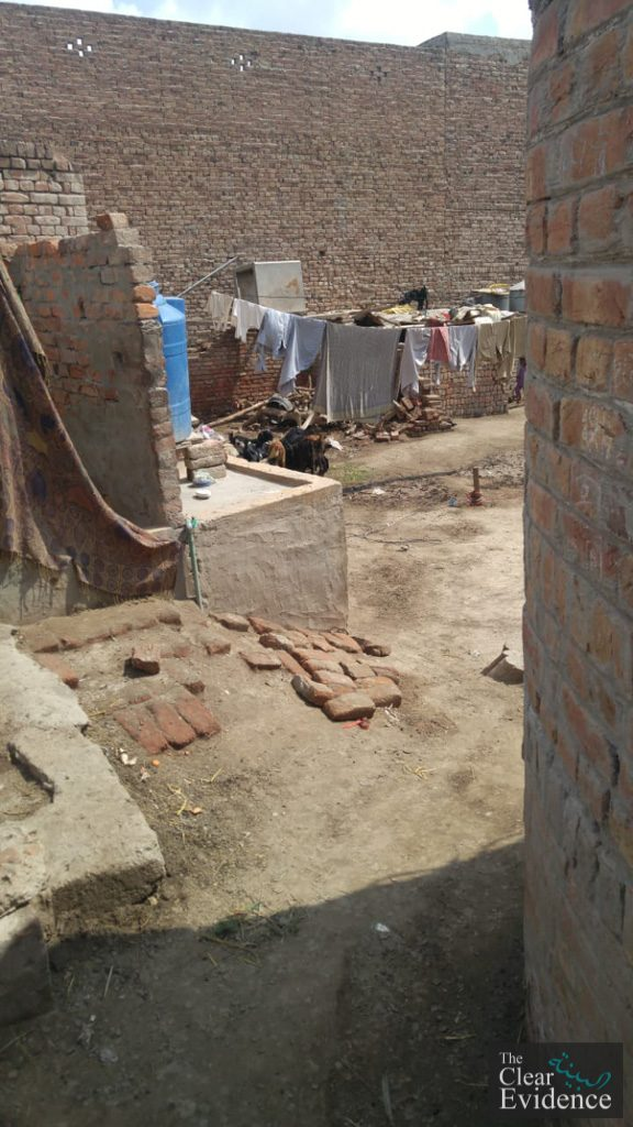 Request for Donations for Repair of Houses of 2 Needy Families in Muzafarabad, Multan