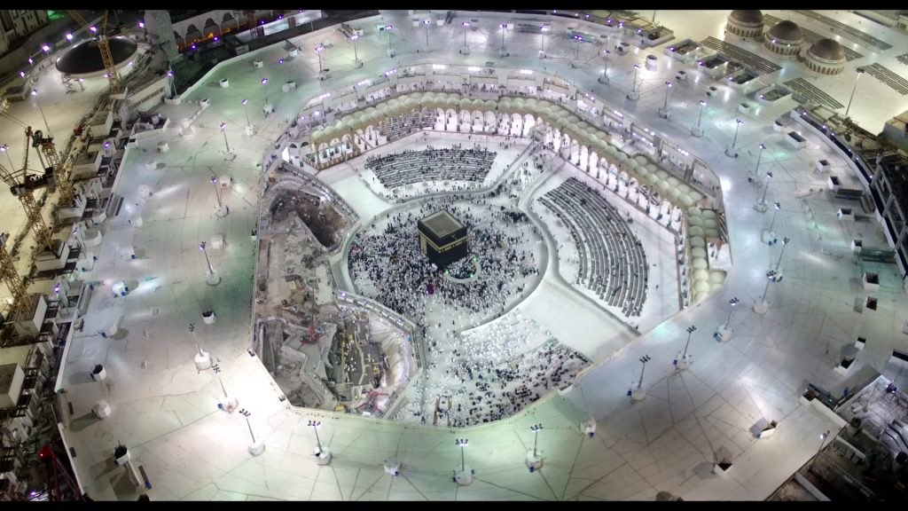 Ramadan 2019 - 1440H Parking Plan for Masjid Al Haram, Makkah, Saudi Arabia (Arabic)