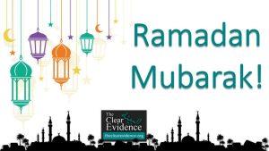 Ramadan Card 2021 - The Clear Evidence - theclearevidence.org