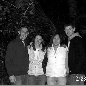 Mike, Jess, Cass and Adam