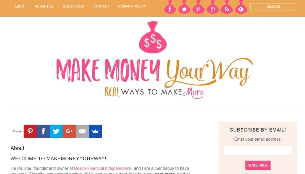 Make Money Your Way blog