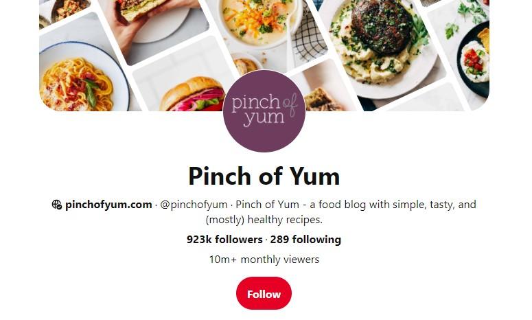 PinchOfYum Pinterest