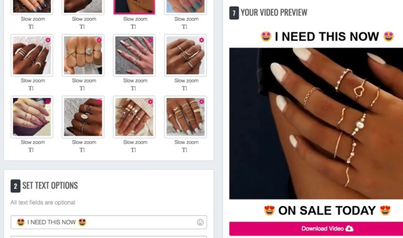 Sell The Trend ad creation tool
