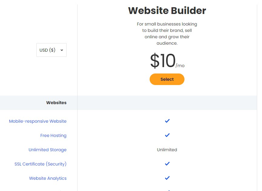 Constant Contact blogging platform pricing